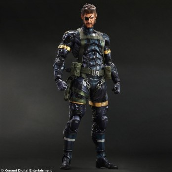 METAL GEAR SOLID 5 GROUND ZEROES PLAY ARTS KAI Snake