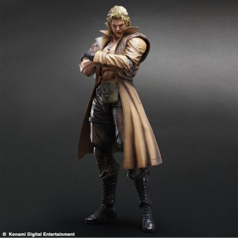 METAL GEAR SOLID Play Arts Kaï - Liquid Snake